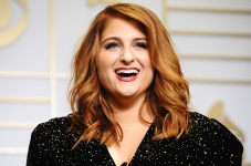 LOS ANGELES, CA - FEBRUARY 15: Singer Meghan Trainor poses in the press room at the The 58th GRAMMY Awards at Staples Center on February 15, 2016 in Los Angeles, California. (Photo by Jason LaVeris/FilmMagic)